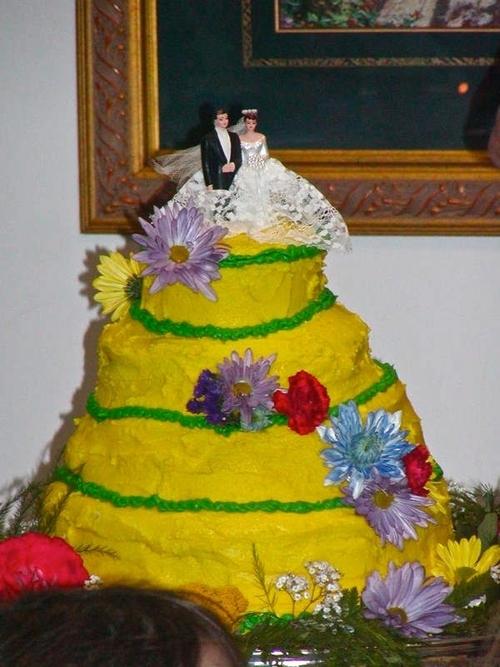 tarta amarilla